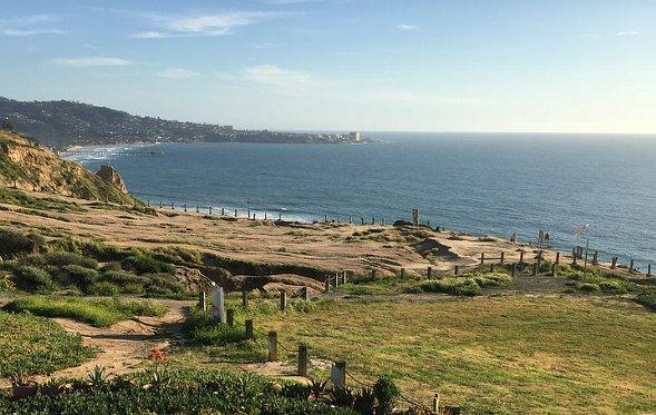 サンディエゴのビーチ