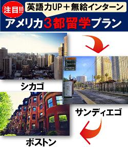 3都市留学プラン